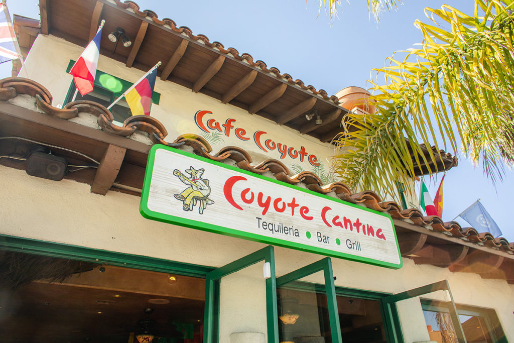 Cafe Coyote storefront